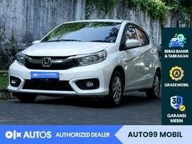 [OLX Autos] Honda BRIO 2019/2020 Satya E 1.2 M/T KM Rendah #auto99
