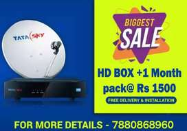 TATA SKY LOWEST PRICE CHALLENGE- TATASKY HD BOX SALE AIRTEL DISH DTH