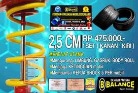 Mobil STABIL Dgn Pasang Spring Buffer BALANCE DAMPER