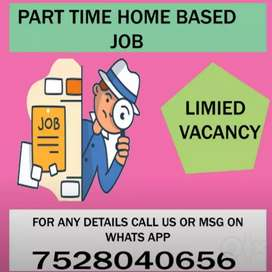 Limited seats opportunity for data entry job