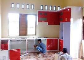 Kitchen set + pasang