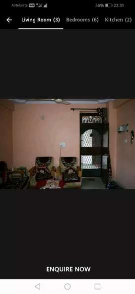 For sale 3 bedroom with 2 toilet with parking and lift facilities