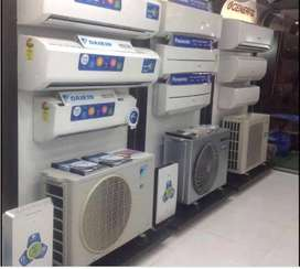 4year warrienty all model split ac used good condition