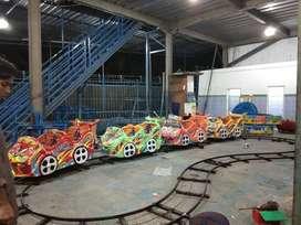 wahana usaha odong rel bawah lantai mobilan mini roller coaster