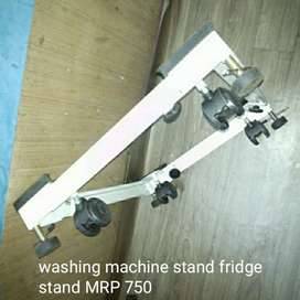 Fridge stand washing machine stand
