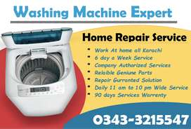 Imported & Local all Automatic washing machine Expert Work at home