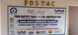Food safety training and certification