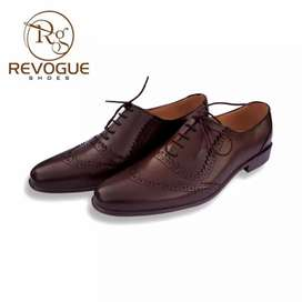 Handmade men leather shoes