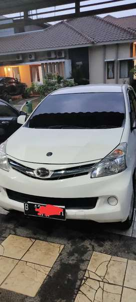 (Tdp 25jt) Daihatsu Xenia R deluxe th 2013 w.putih