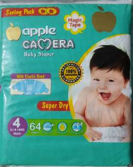 Apple camera diapers of very fine quality