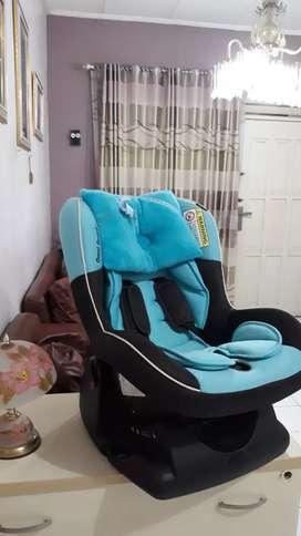 Car Seat Biru Muda