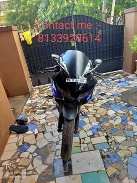 New Yamaha R15 available for sell,  Contact no.  In ad picture