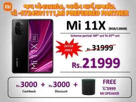 Mi 11 X 8+128 brand new with Bill