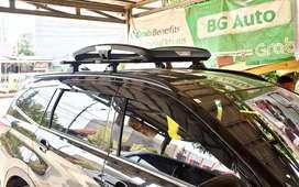 Rak Bagasi Mobil Buzzrack Ada Roofbox 400L Putih Hitam Ready
