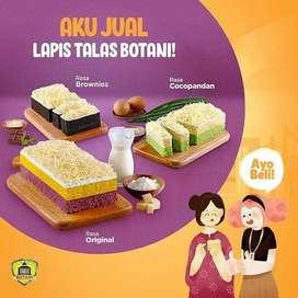 Lapis Talas Botani By Lapis Bogor Sangkuriang Pilihan 5 Rasa