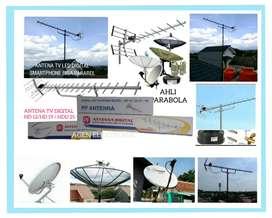 Spesialis pemasangan baru parabola dan antena TV digital