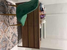 drawer enam laci bahan kayu kokoh