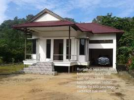 Rumah tipe 168 di tepi jalan raya Bhayangkara Sukadana