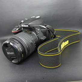 Nikon D3400 body + lensa kit