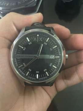 Armani Exchange AX2101 Leather Watch
