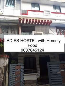 Ladies Hostel with Food