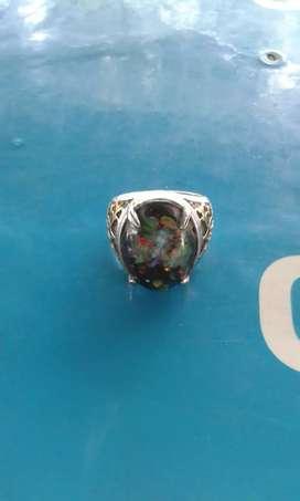 Cincin Kalimaya balack oval