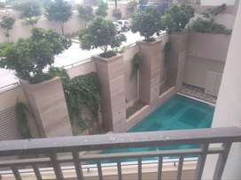 3bhk semi furnished flat for rent at cedar luxuria at mansarovar ext