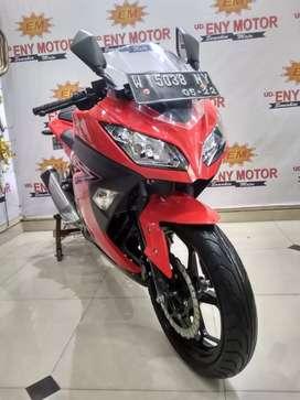 Bikin Melek ! Kawasaki Ninja 250 FI th 2017 super mulus mesin halus
