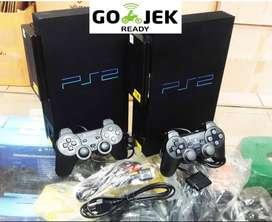 <N.E.W> PS2 FAT HD NA 160gb 2Stick +FREE GAME