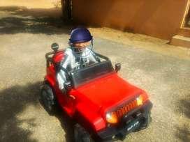 Kids Jeep Car, All wheel motor, dancing mode- music,USB & remote