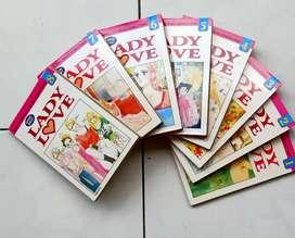 Komik Jepang Serial cantik Lady Love