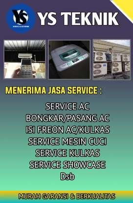 Service Ac Mesin Cuci Kulkas Freezerbox Dll