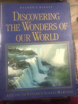 Discovering the wonders of our world book