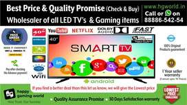 "40""Smart Led Tv Brand New Unbelievable(Wholesale BestQuality 24""to65"")"