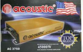 Power 4 channel Acoustic