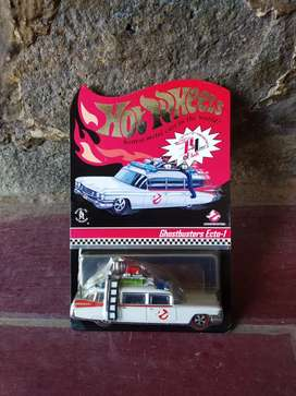[HOT WHEELS] Ghostbusters Ecto-1 • Red Line Club (RLC) series