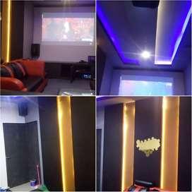 Peredam Suara & design interior