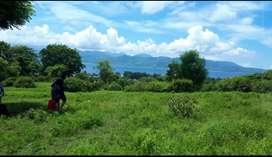 Tanah atas bukit Gili Trawangan