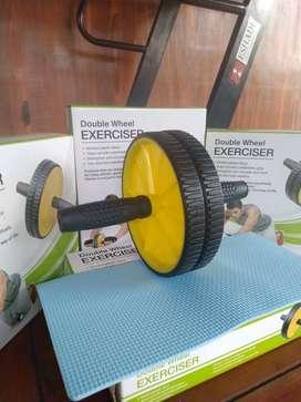 ab roller double wheel