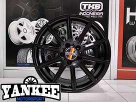 Velg Mobil HSR Wheel R17 LUBECK H5x112 Et45 Mercy Innova