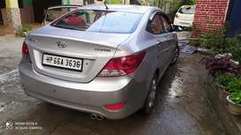 Hyundai Fluidic Verna 2012 Petrol 114000 Km Driven