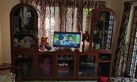 Showcase for living room