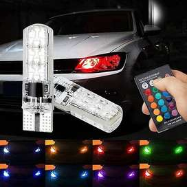 Multi Color RGB Parking Bulbs / Color Changing Parking Bulbs with Infr