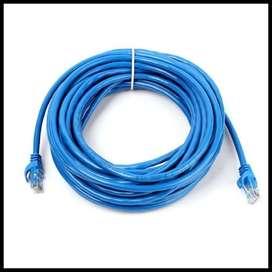 Kabel LAN 20 Meter RJ45 Cat 6 UTP Cable 20