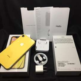 iPhone XR 128 Gb Yellow - NEGO - User Daily Use - FULLSET - No Minus