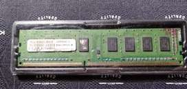 Ram Visipro ddr3 1gb  pc 10600