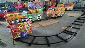 mainan mini coaster odong ada mata bego keruk capit M6