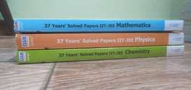 37 Years' solved papers IIT-JEE