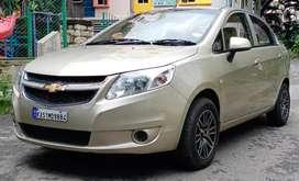 Chevrolet Sail 1.3 LS ABS, 2013, Petrol