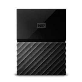 WD Passport brand new 2tb hard drive hard disk